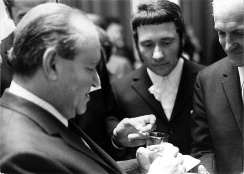 Friedrich Witt und David Oistrach